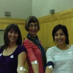 Picture of the staff at Grandview Corners Dental and Wellness Centre after Donating Blood
