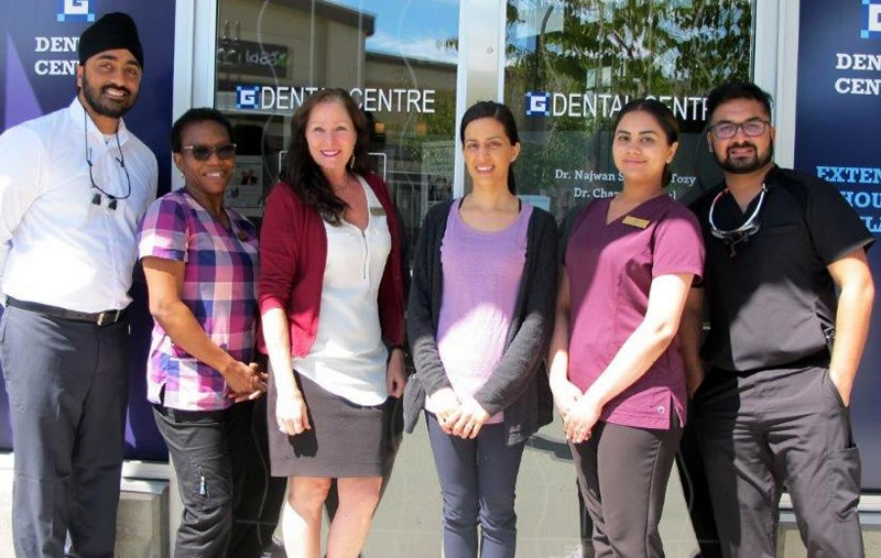 Our team at Grandview Corners Dental